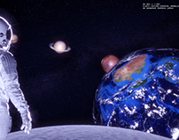 Moon VR Glass Project