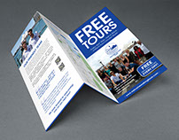 Welcome Walking Tours: flyer design