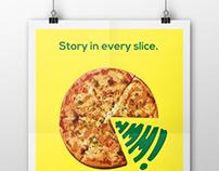 LOTS'A PIZZA Ads. (school work)