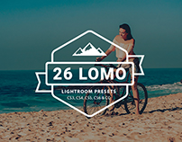 26 LOMO Lightroom Presets Filter