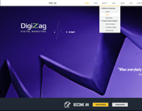 DigiZag - Parallax Web Design