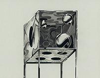 solo exhibition : 粒子とG太郎