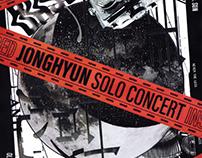 JONGHYUN SOLO CONCERT : INSPIRED teaser poster