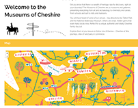 Museums of Cheshire Map