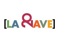 Logo conmemorativo teatro [LA NAVE]