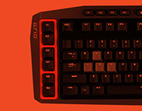 Logitech Gaming Products Package Design
