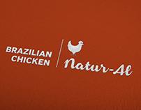 Natur-al Brazilian Chicken: Visual Identity & Packaging