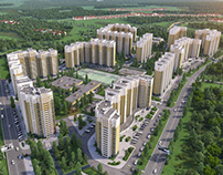 PROJECT OF THE MICRODISTRICT FOR RUSSIAN COMPANY