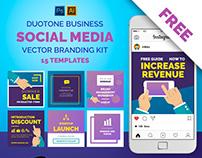 Freebie: Social media branding bundle
