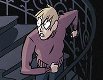 Gorgon - animated horror short film