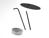 moon base coffee table