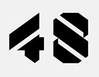 Nestival Numerals – Bespoke lettering