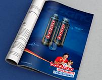 Anúncio de Revista - (Magazine Ad)