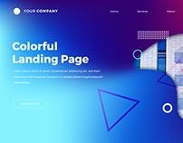 Business Landing Page - Free Template with Tutorial