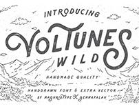 Voltunes Typeface