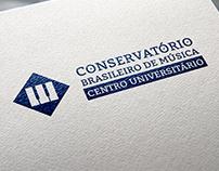 Redesign da marca - Conservatório Brasileiro de Música