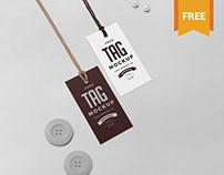 Free Swing Tag Mockup