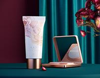 东方彩妆 ,以花养妆 —— 《花西子》品牌包装设计。