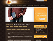 Manthano Christian College Website
