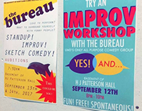 Bureau Promotional Posters Fall 2017