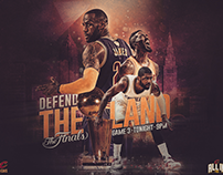2016 Cleveland Cavaliers NBA Finals Graphics Package