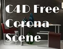 C4D Free Corona Scene