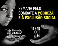 Cartaz - Luta contra a pobreza