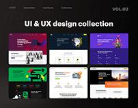 UI & UX design collection VOL. 02