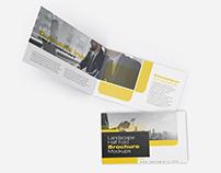 Landscape Half Fold Brochure Mockups
