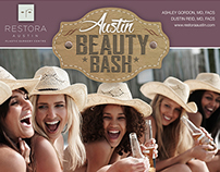 Event Promotion / Restora Austin Beauty Bash
