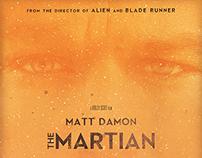 """THE MARTIAN"" / fan art poster"