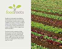 FoodRoots | Social Awareness Project