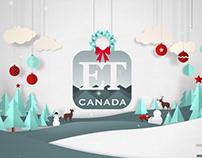 ET Canada Animated Xmas Card