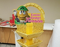M&M Easter Display