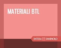 Intesa Sanpaolo - materiali BTL