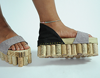 Wine Cork Shoes
