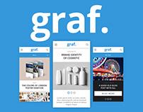 Graf. Mobile Portfolio. FREE