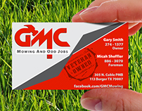 GMC Mowing and Odd Jobs