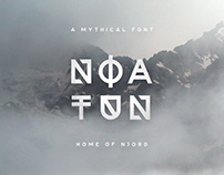 Noatun Typeface