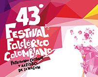 43º FESTIVAL FOLCLÓRICO COLOMBIANO