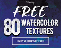 Watercolor Textures (Freebie)