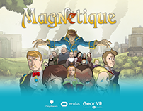 Magnetique VR Comic