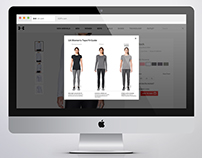 Under Armour Fit Tab Redesign