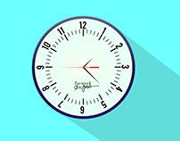 Clock Art Design