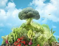 Vegetarian island