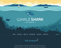 Whale Shark Studio Homepage redesign - Pharallax