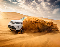 Sand-bashing in Namibia - LandRover Discovery