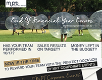 MPT Corporate events flyer