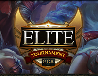 GCALP Elite Tournament Logo/Key Art