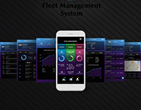 CRM Mobile Dashbaord App - UX/UI Design